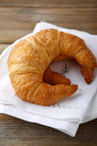Fresh French croissants Royalty Free Stock Photo