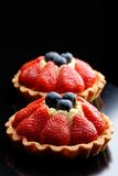 Fresh french fruit tart Royalty Free Stock Photos