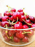 Fresh freshly picked cherries Stock Image