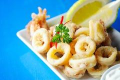 Fresh Fried Calamari Royalty Free Stock Image