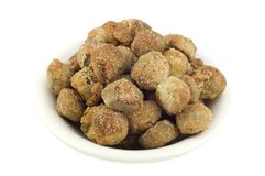 Fresh Fried Okra Stock Photos