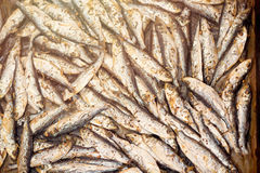 Fresh Fried Smelts Stock Photo