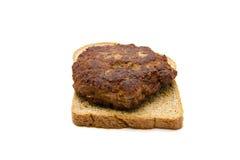 Fresh Frikadeller with Toast Bread Stock Image