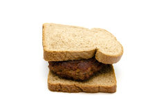 Fresh Frikadeller with Toast Bread Royalty Free Stock Photo