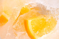 Fresh frozen fruit Stock Photos