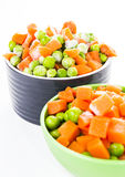 Fresh frozen mixed vegetables Royalty Free Stock Image