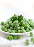 Fresh frozen peas Stock Images
