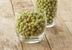 Fresh frozen peas Royalty Free Stock Image