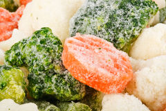 Fresh frozen vegetables Royalty Free Stock Photo