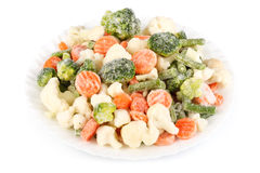 Fresh frozen vegetables Royalty Free Stock Photo