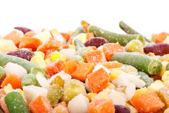 Fresh frozen vegetables Royalty Free Stock Image