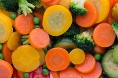Fresh frozen vegetables eco food, natur.  stock photography