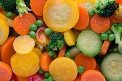 Fresh frozen vegetables eco food, natur. Fresh frozen vegetables eco food, natur royalty free stock photos