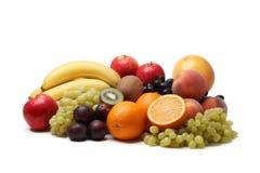 Fresh fruit. Fresh fruit on a white background Stock Photo