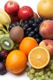 Fresh fruit. Fresh fruit on a white background Stock Images