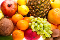 Fresh fruit Royalty Free Stock Photos