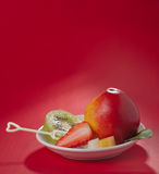 Fresh fruit. For women, add fruit nutrition is very necessary Stock Photography