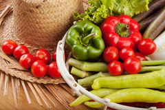 Fresh Fruit And Vegetables To Cook. Stock Image