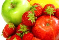 Free Fresh Fruit - Apple, Strawberry Stock Photo - 20595780