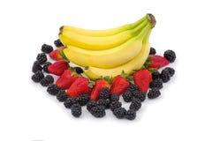 Fresh Fruit Arrangement Stock Photography