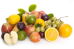 Selection Of Fresh Fruit Royalty Free Stock Photos