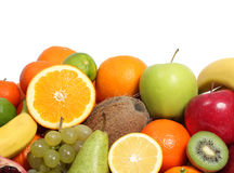 Fresh fruit background Stock Photo