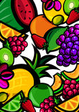 Fresh fruit background royalty free stock images