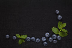 Fresh fruit background with copyspace. Royalty Free Stock Photos