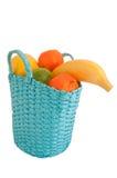 Fresh fruit in the basket Stock Image
