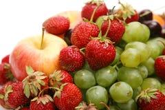 Fresh fruit and berries Stock Photos