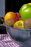 Fresh Fruit Bowl Royalty Free Stock Photos