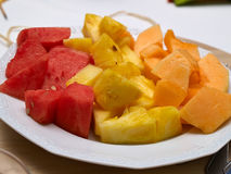 Fresh Fruit Bowl Royalty Free Stock Image