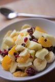 Fresh fruit breakfast royalty free stock photos
