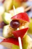 Fresh fruit brochettes. Food, gastronomy, cuisine,cookery Stock Photos
