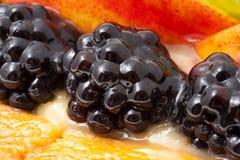 Fresh fruit cake Stock Photo