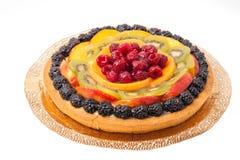 Fresh fruit cake Stock Images