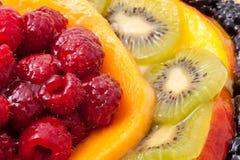 Fresh fruit cake Royalty Free Stock Photos