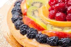 Fresh fruit cake Royalty Free Stock Image