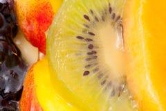 Fresh fruit cake Royalty Free Stock Photography