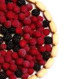 Fresh fruit cake Stock Photography