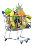 Fresh Fruit in Cart Royalty Free Stock Photo