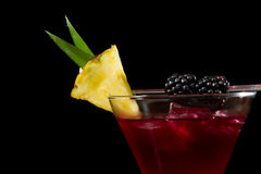 Fresh fruit cocktail Royalty Free Stock Photos