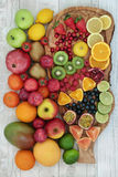 Fresh Fruit Collection Royalty Free Stock Photos