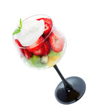 Fresh Fruit Dessert royalty free stock photography