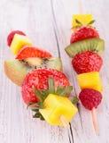 Fresh fruit dessert Stock Images