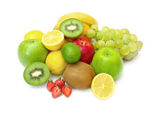 Fresh fruit display Royalty Free Stock Image