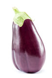 Fresh fruit eggplant on white background. Royalty Free Stock Photos