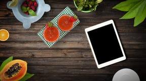 Fresh Fruit Exotic Background Stock Photography
