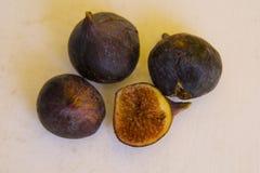 Fresh fruit of fig Stock Photos