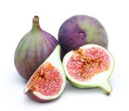 Fresh fruit figs isolated Royalty Free Stock Photography